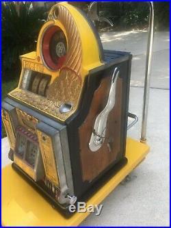 25 cent ROL-A-TOR Rare Watling Slot Machine Nice Original