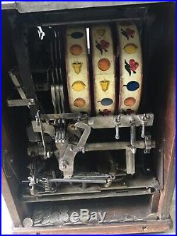 25 cent Watling Baby Lincoln Slot Machine Rare