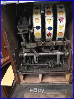 25c Mills Jackpot Torch Slot