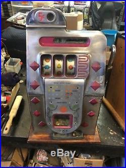 5 Cent Mills Diamond Front Slot Machine
