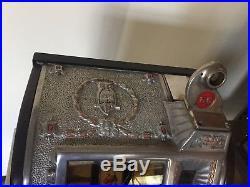 5 Cent Mills Rockola Conversion Front 1920's Slot Machine Rock-OLa