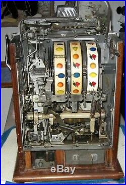 5 Cent Mills Slot Machine Very Original Condition
