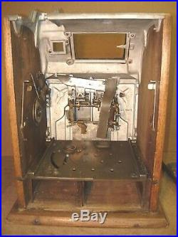 5c Antique Slot Machine 1920s Mills Operator Bell with Pace JP & FREE SHIPPING