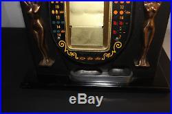 (AA-10976, C3) ANTIQUE GOLDEN NUGGET 25 Cent, SLOT MACHINE, ORIGINAL, BEAUTIFUL