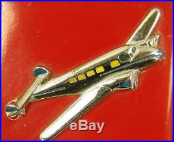 AMAZING ORIGINAL 1938 JENNINGS 5c AIRPLANE CHIEF with SECURITY STAND! WATCH VIDEO