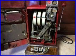 Antique $1 Slot Machine From The World Famous Harolds Club