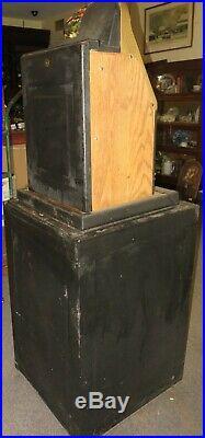 ANTIQUE MILLS GOLDEN FALLS Cherries 5c SLOT MACHINE JACK IN THE BOX BASE