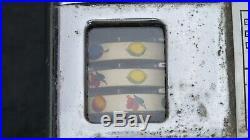 ANTIQUE MILLS VEST POCKET 5c SLOT MACHINE Chrome WORKING w KEY