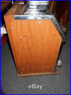 Antique Original 1930-40 Jennings Nevada Club 5 Cent Slot Machine