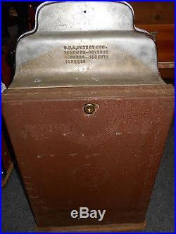 Antique Original 1930-40 Jennings Standard Chief 25 Cent Slot Machine