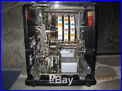 ANTIQUE SLOT MACHINE-WATLING BUBBLE GUM VENDOR -BEAUTIFUL-PENNY- 1930's RARE