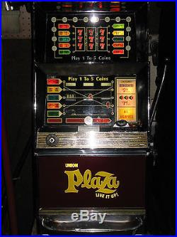 ANTIQUE VINTAGE BALLY'S SLOT MACHINE' (873 5 liner) CLEAN AND IN BEAUTIFUL SHAPE