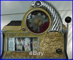 Antique Watling Roll A Top Slot Machine