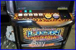 ARUZE Slot Machine with Lion Ultra Stack Game CASINO FUN FOR YOUR HOME