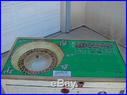 Acme Bally Rollette Electromechanical Payout Roulette Slot Machine early 1960s