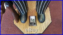 Al Capone Wood Carved Statue with Mills 10c Slot Machine by Dick De Long