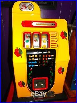 All Original 1946 Mills Golden Falls Deluxe Slot Machine