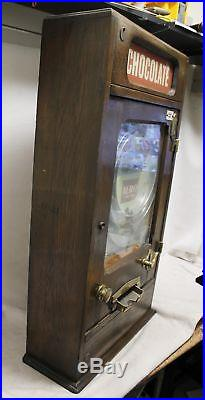 Allwin Marble Cabinet Penny Coin Operated Ball Slot Machine Macdonalds Penguin