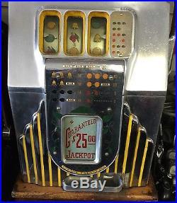 Antique 0.25 Mills High Top Slot Machine