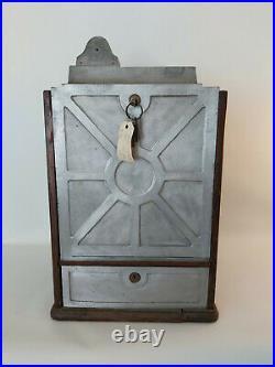 Antique 1920's Jennings token trade stimulator Confection slot machine jackpot