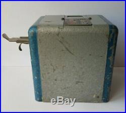 Antique 1930's Mills Vest Pocket 5 Cent Slot Machine WORKING NO KEY