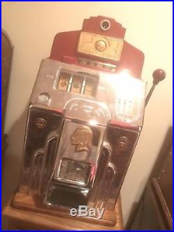 Antique 1930's Mills Wars Eagle 10cent and many more collectible slot machines