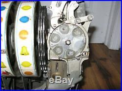 Antique 1930s 10 Cent Pace Comet Slot Machine Reel Mechanism Original Coin OP