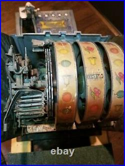 Antique 1930s 5 Cent Pace Comet Slot Machine LOCAL PICK UP ONLY