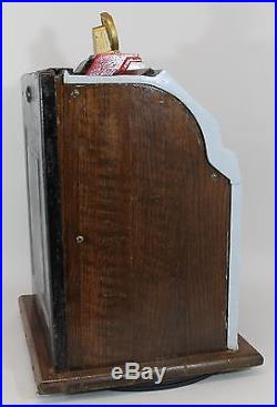 Antique 1930s MILLS Skyscraper 10cent Slot Machine, Works & Pays Out, NR