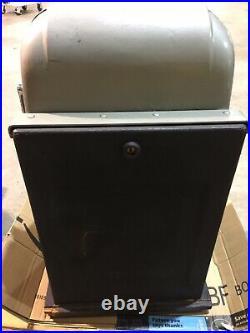 Antique 1930s Mills Black Beauty 10 Cent High Top Vintage Slot Machine Works