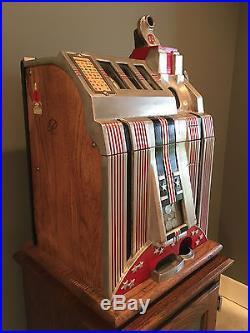 Antique 1931 Mills Skyscraper Slot Machine