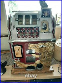Antique 1931 Mills Slot Machine Lions Head