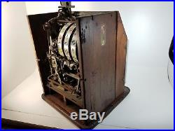 Antique 1935 Watling Blue Seal Confections 25 Cent Slot Machine Twin Jackpot
