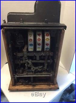 Antique 1940's Mills Black Cherry 5 Cent Slot Machine Restoration Project
