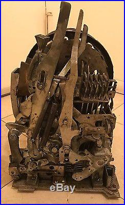 Antique 1940's Mills Jewel Bell 5 Five Cent Slot Machine Recently Serviced