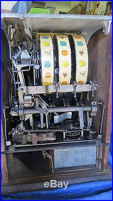 Antique Baseball Mills Slot Machine Patent date 1911- May 28, 1912