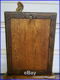 Antique Bill Durham Jennings Vintage Slot Machine One Cent Penny Free Shipping