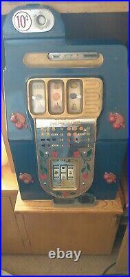 Antique Buckley/Mills 10¢ Slot Machine