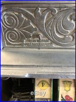 Antique Callie Nickel 5 Cents Slot Machine