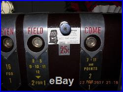 Antique Collectible Mills Dice Slot Machine