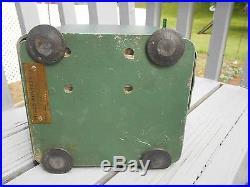 Antique Green Mills Novelty Co Nickel Tabletop Slot Machine SN No 300