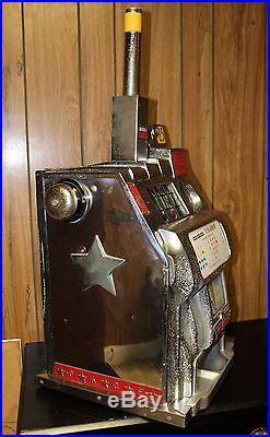 Antique Harrah S Hotel Casino 1940 S 25 Cent Pace Slot Machine