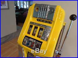 Antique High Top Mills 1940's Wild Deuce Slot Machine