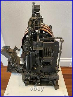 Antique Jennings 5 Cent Standard Chief Slot Machine
