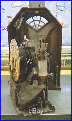 Antique Jennings Little Duke Single Jackpot Penny Slot Machine Circa 1932