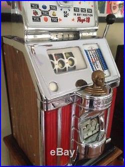 Antique Jennings Slot Machine