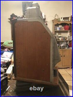 Antique Jennings Standard Chief Slot Machine 5 Cents