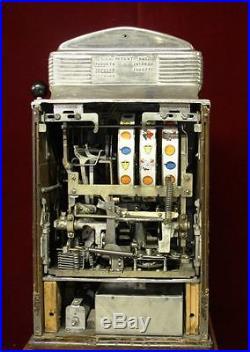 Antique Jennings Sun Chief Slot Machine 25 cent