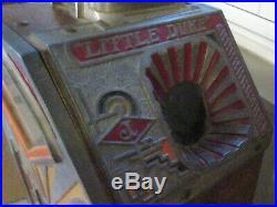 Antique Little Duke 1 Cent Slot Machine