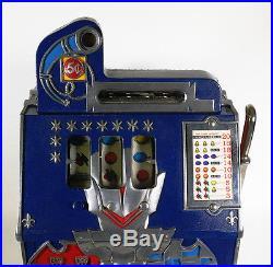 Antique MILLS Castle Front 5 Cent Slot Machine